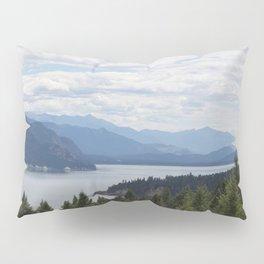 Rocky Mountain lake Pillow Sham