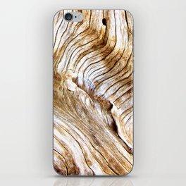 Organic design Tree Wood Grain Driftwood natures pattern iPhone Skin