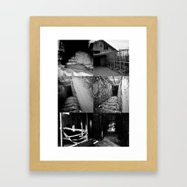 Where the Wild Things Once Were Framed Art Print