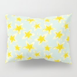 Yellow Plumeria Pillow Sham