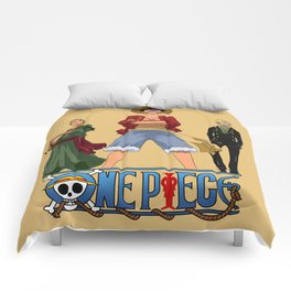 Luffy Zoro Sanji - OnePiece Comforters