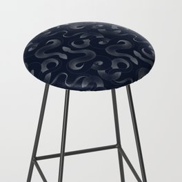 Serpentine Bar Stool