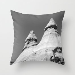 Tent Rocks National Monument Throw Pillow