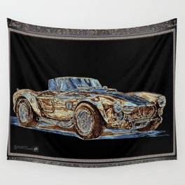 1965 Shelby AC Cobra Wall Tapestry