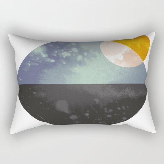 Sea and sun Rectangular Pillow