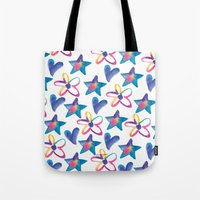 girly Tote Bags featuring Girly by mariorigami