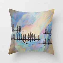 Spiritual Tribute Throw Pillow