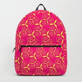 Golden curled paterns Backpack