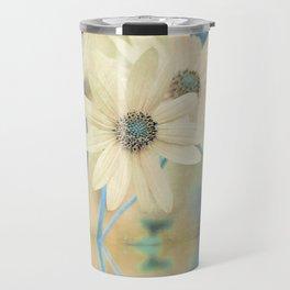 Altered States -- Helianthus Sunflower Autumn Botanical Travel Mug