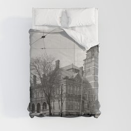 The Knox County Courthouse in Knoxville, Tennessee Comforters