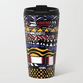 Mondriaan aztec Travel Mug