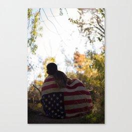 Love Out West Canvas Print
