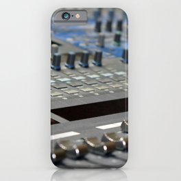 Mixing Console iPhone Case
