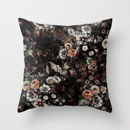 Night Garden V Throw Pillow