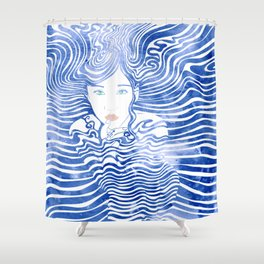Water Nymph XLIII Shower Curtain