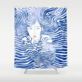 Water Nymph XLIII Shower Curtain