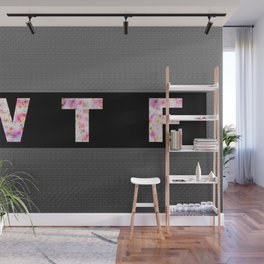 dirty expression. gloss background, inscription Wall Mural