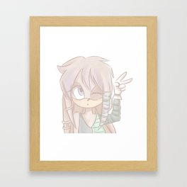 Julie-su Framed Art Print