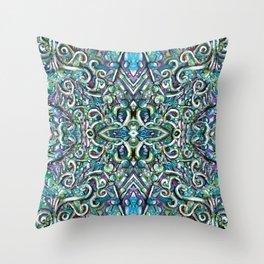 Sea Splash Throw Pillow