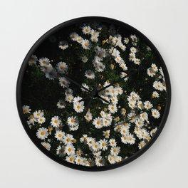 Dank Daisies Wall Clock