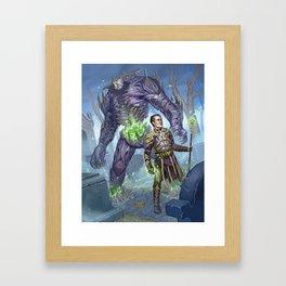 Golem Master Framed Art Print