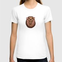 hedgehog T-shirts featuring Hedgehog by Lilybet
