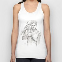 daryl Tank Tops featuring Daryl by Eric Dockery