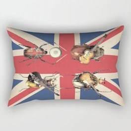 Meet the Beetles (Union Jack Option) Rectangular Pillow