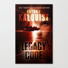 Legacy Code Book Cover Print Canvas Print