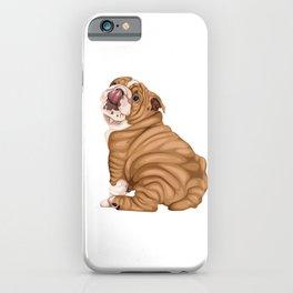 English Bulldog iPhone Case