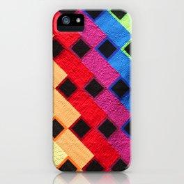 rainbow dance party iPhone Case
