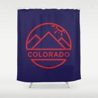 colorado Shower Curtains featuring Colorado by BMaw
