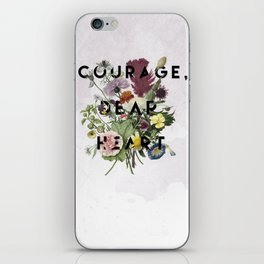 Courage iPhone Skin