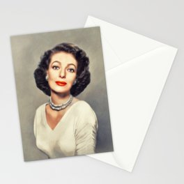Loretta Young, Vintage Actress Stationery Cards