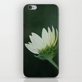 White Flower iPhone Skin