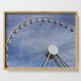 Fun wheel carousel Serving Tray