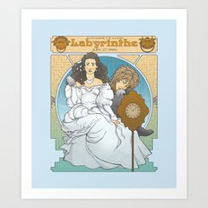 Labyrinthe Art Print