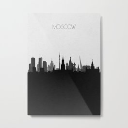 City Skylines: Moscow Metal Print