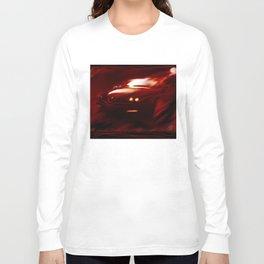 Flaming Alfa Gtv 916 Long Sleeve T-shirt