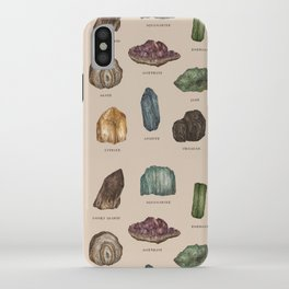 Gems and Minerals iPhone Case