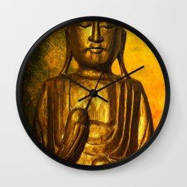 golden balance Wall Clock