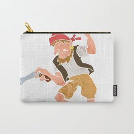 Pirate with Gun Cartoon Carry-All Pouch