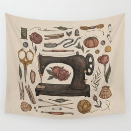 Sewing Collection Wall Tapestry