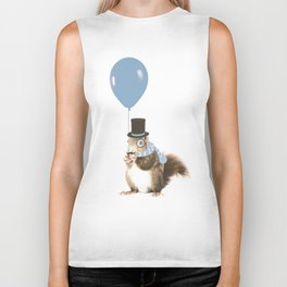 party squirrel Biker Tank