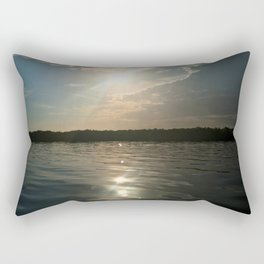 River Sun Rectangular Pillow