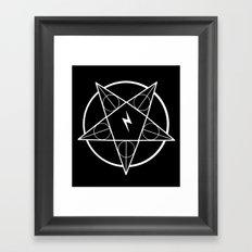 PotterGram Framed Art Print