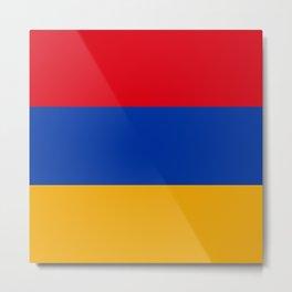 Flag: Armenia Metal Print