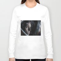 ripley Long Sleeve T-shirts featuring Ripley from Aliens by Ashley Anderson