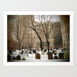 American Stock Exchange Art Print