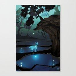 the bog Canvas Print